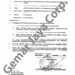 Surat Ijin Kepolisian Kegiatan Launching Arema 2