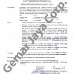 Surat Ijin Kepolisian Kegiatan Launching Arema 3