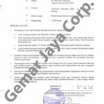 Surat Ijin Kepolisian Kegiatan Nobar Campion 1