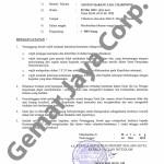 Surat Ijin Kepolisian Kegiatan Nobar Campion 5