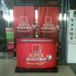 Meja counter Djarum Super Soccer