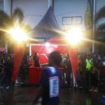 Tenda Parasol Djarum Super Launching Arema 2014 (1)