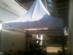 pemasangan tenda boots pondok kepanjen (2)